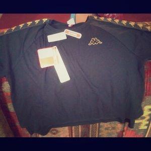 Blk/gold Kappa Shirt